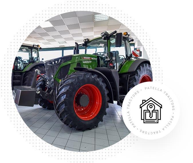 Patella Tractors - Noleggio Trattori