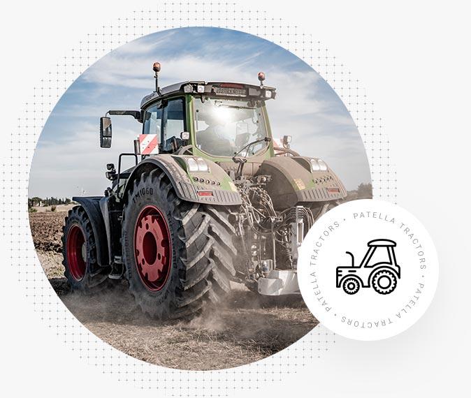 Patella Tractors - Prova su campo Trattori